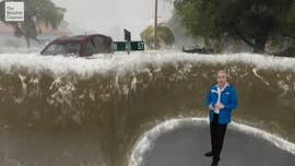 A storm surge of 9 or 12 feet has the power to wreak havoc, sweeping away cars, humans and debris in devastating fashion.