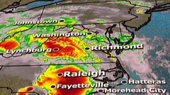 Janice Dean reports on the rain impact from Florence.