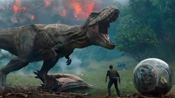 New in Entertainment: Chris Pratt and Bryce Dallas Howard return to save dinosaurs from an active volcano threatening to extinguish life on their island in the latest installment of the blockbuster franchise.
