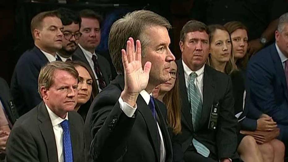 Dems demand delay in Kavanaugh hearings