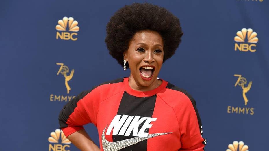 'Black-ish' actress Jenifer Lewis dons Nike at Emmy Awards