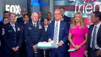 Military branch marks milestone on 'Fox & Friends.'