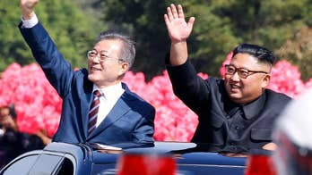 South Korean President Moon Jae-in and North Korean leader Kim Jong Un embrace as talks kick off in Pyongyang; Greg Palkot reports on the agenda of the third summit between the leaders.