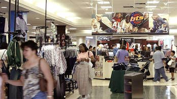 Survey: 42 percent of shoppers aged 18-22 prefer to shop in a store than shop online. Fox Biz Flash: Tuesday, 9/18.