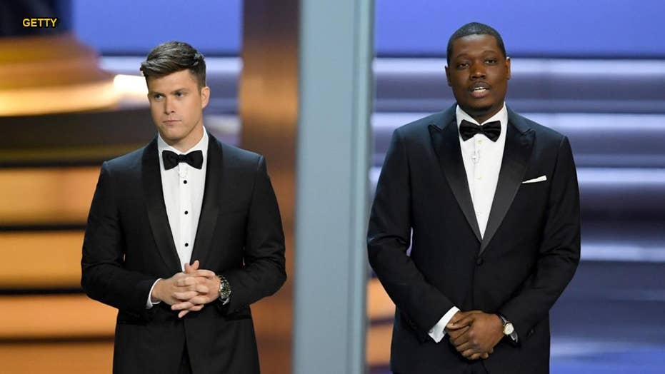 Emmys host Michael Che makes dig at people who thank Jesus