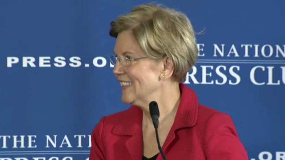Elizabeth Warren exploits Kavanaugh allegations