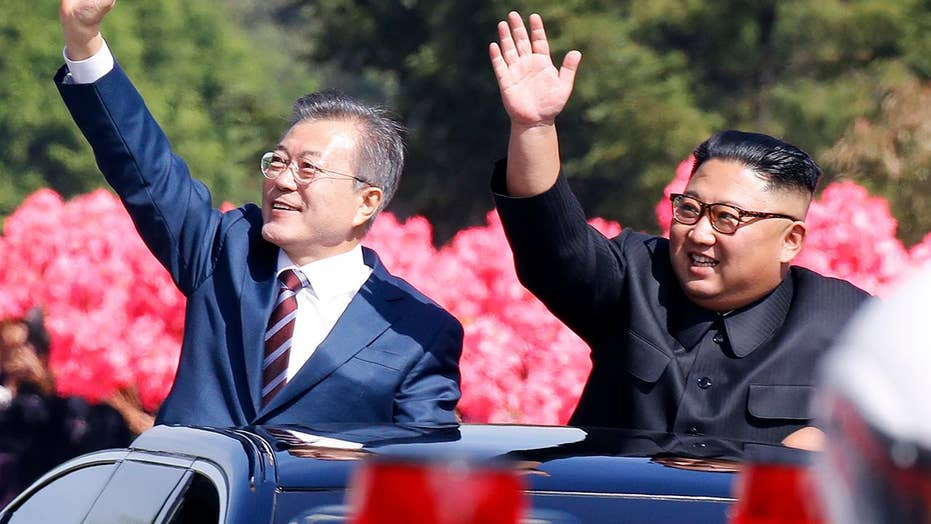 Moon arrives in North Korea for talks with Kim