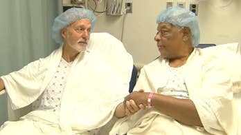 Life-saving kidney donation between Vietnam veterans.