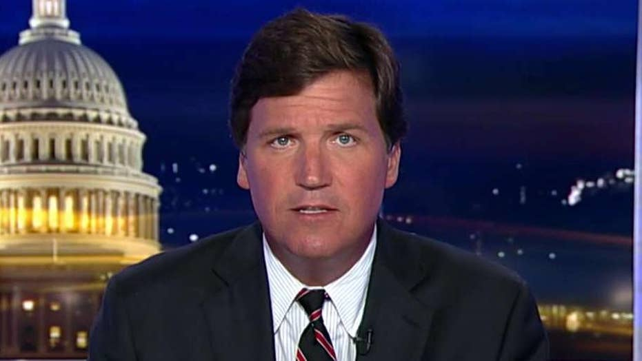 Tucker: The left think men are guilty