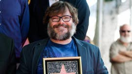 "Jack Black referred to President Trump as a ""piece of s---""during his acceptance speech after his star was unveiled on the Hollywood Walk of Fame on Tuesday."