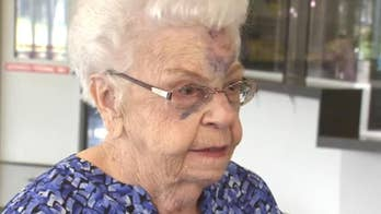 88-year-old Michigan woman knocked on her face and badly bruised during a carjacking in a Walmart parking lot.