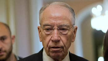 Lawmakers speak out after Sen. Grassley gives Dr. Ford a deadline to respond to the committee's invitation to testify on her accusations against Brett Kavanaugh; Mike Emanuel reports from Capitol Hill.