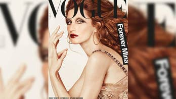 Supermodel Gisele Bündchen undergoes an edgy transformation for the cover of Vogue Italia. The magazine and model is honoring the career of singer Mina.