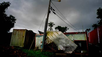 Daily life still a struggle for victims on the island; Phil Keating reports from Yabucoa.
