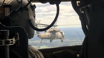 Hurricane Florence volunteers suit up for helicopter rescues in ravaged North Carolina