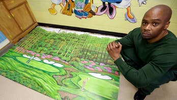 Valentino Dixon's beautiful drawings of golf courses helped him gain attention that eventually led to him being exonerated for murder.