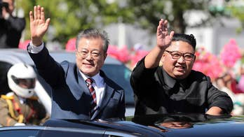 North Korean leader Kim Jong Un meets South Korean President Moon Jae-in for the third time this year, in a new effort to fix badly-stalled talks on the denuclearization; Greg Palkot reports.