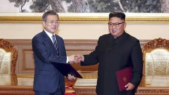 For the first time, South and North Korea agreed on a specific step toward denuclearization; Greg Palkot reports.