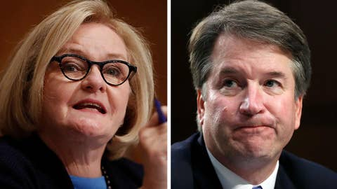 Sen. McCaskill says she'll vote 'no' on Judge Kavanaugh