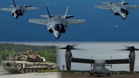 US military power getting a $674 billion boost in 2019