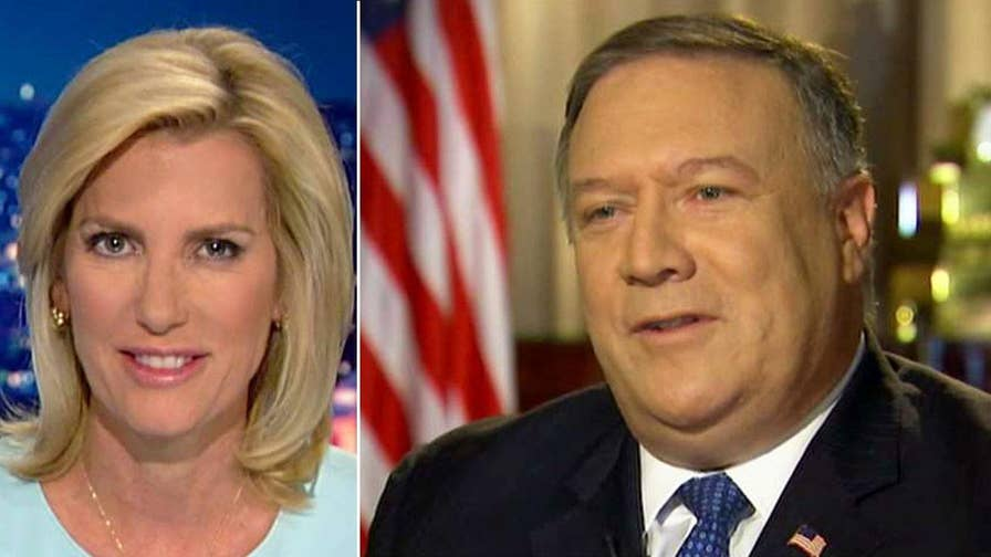 Sec. Mike Pompeo discusses John Kerry and Iran policy, refugee resettlement in the U.S. and more on 'The Ingraham Angle.'