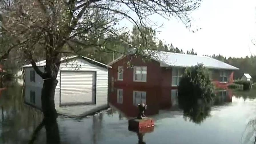 Flooding expected to get worse in Brunswick County, North Carolina.