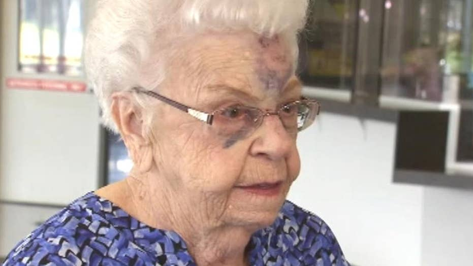 88-year-old Michigan woman knocked on her face in carjacking
