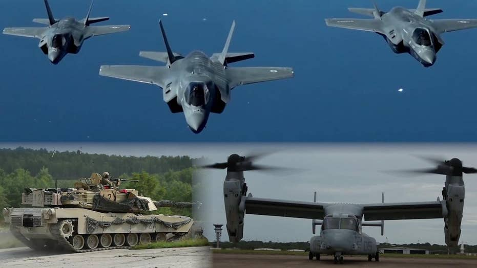 $674 billion of tanks, fighter jets, subs and more to boost