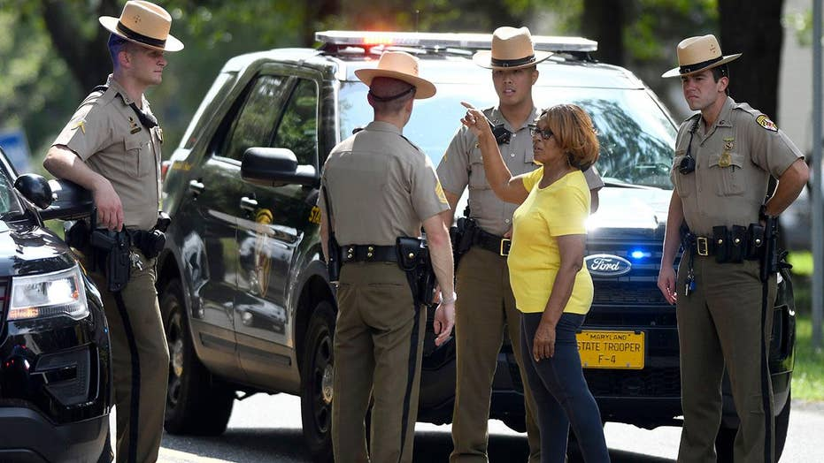 Maryland shooter died from self-inflicted gunshot
