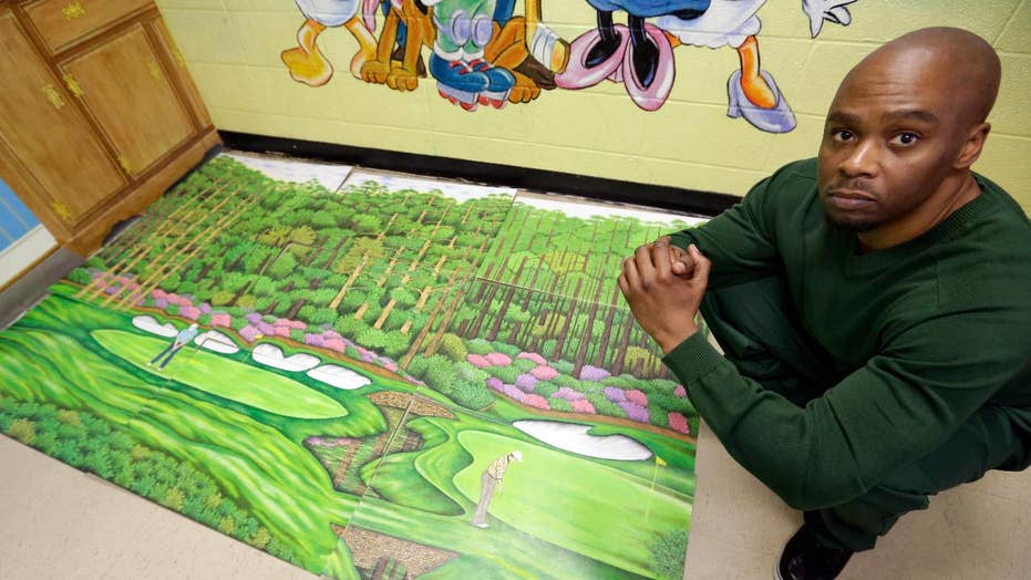 Golf drawing helps wrongly-convicted inmate leave jail