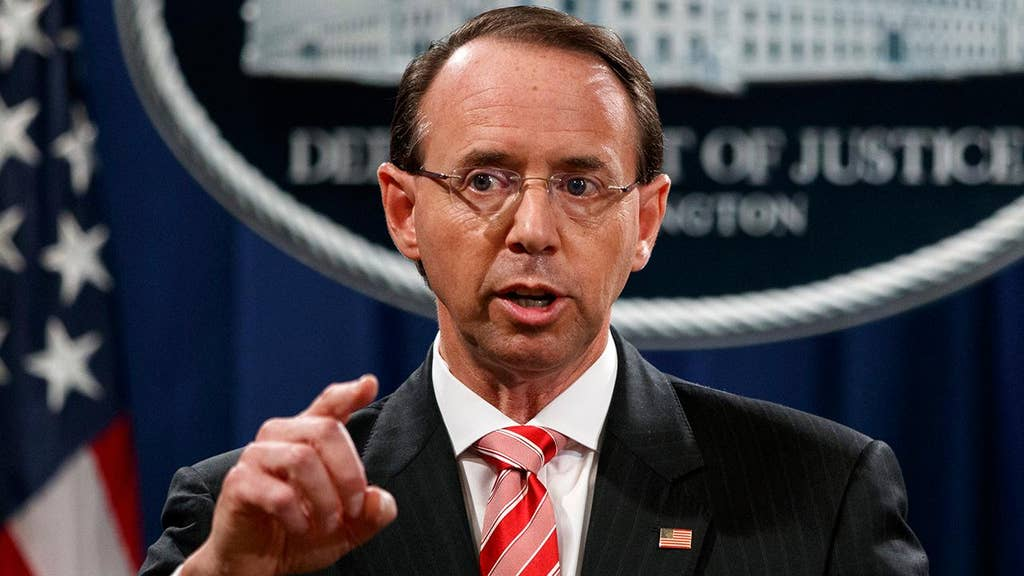 GREG JARRETT: Rosenstein's coup attempt should not go unpunished