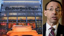 Deputy Attorney General Rod Rosenstein says the New York Times report that he suggested secretly recording President Trump is 'factual inaccurate'; reaction and analysis from the 'Special Report' All-Stars.