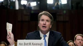 President Trump called on Christine Blasey Ford on Friday to provide a police report to back up her allegations that Supreme Court nominee Brett Kavanaugh tried to sexually assault her more than three decades ago.
