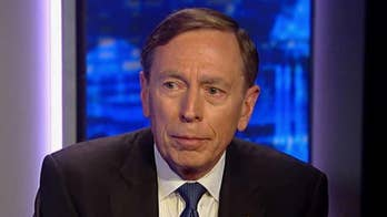 Former CIA director David Petraeus was shot as a lieutenant colonel; he opens up about the experience on 'The Story with Martha MacCallum.'