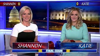 'Fox News @ Night' anchor Shannon Bream squares off against Townhall's Katie Pavlich for right to be called the ultimate Final Exam champion.