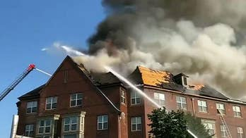Fire broke out at a public housing complex. Dozens of senior citizens were saved.