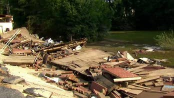 North Carolina residents are beginning to see the damage in the aftermath of the hurricane. Griff Jenkins reports.