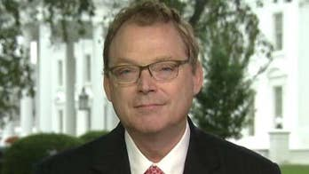 On 'America's Newsroom,' Chairman of the Council of Economic Advisers addresses the White House's economic records and says the U.S. economy is seeing 'real wage growth.'