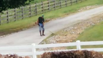 DJ Kidd Carter is accusing the Catawba Equestrian Center of disrupting weddings by doing yard work during ceremonies that occur at the neighboring Triple J Farm Events.