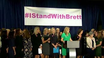 Women voice support for Judge Kavanaugh in Washington, D.C.; longtime friend of Kavanaugh, Anita McBride, speaks out on 'Your World.'