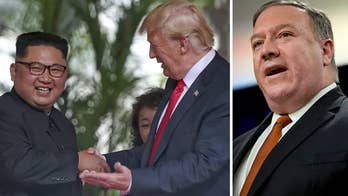 Secretary of State Mike Pompeo discusses Trump administration efforts to denuclearize North Korea and the upcoming United Nations General Assembly in an interview with Rich Edson.