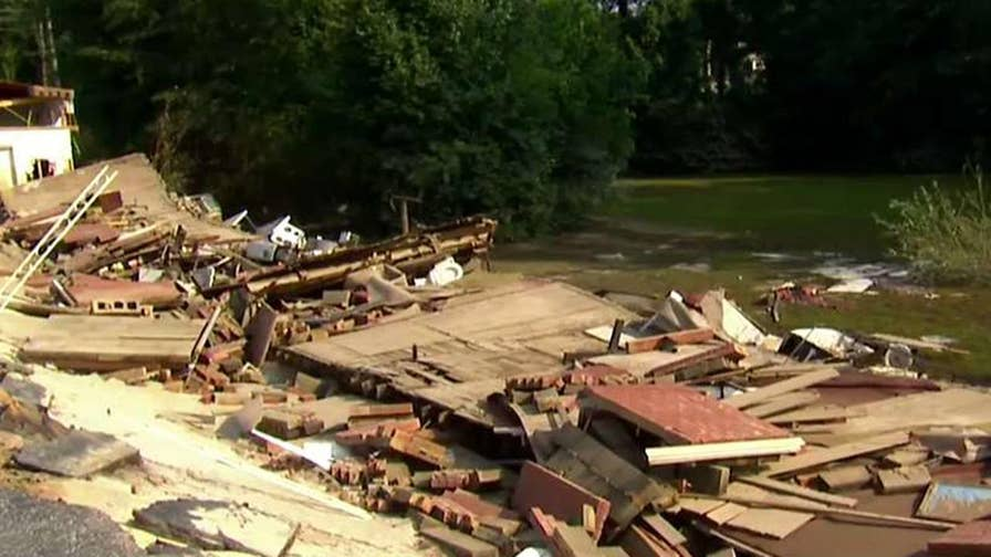 North Carolina residents are beginning to see the damage in the aftermath of the hurricane.