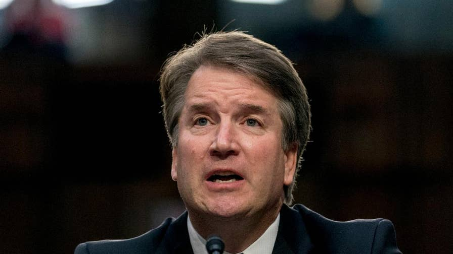 Trump goes on offensive in Kavanaugh fight, calls on ...