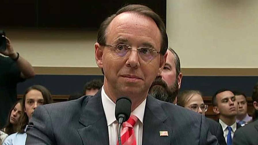 New York Times claims Rosenstein suggested secretly recording Trump and invoking the 25th Amendment; 'MediaBuzz' host Howard Kurtz and law professor Jonathan Turley weigh in on 'The Story.'