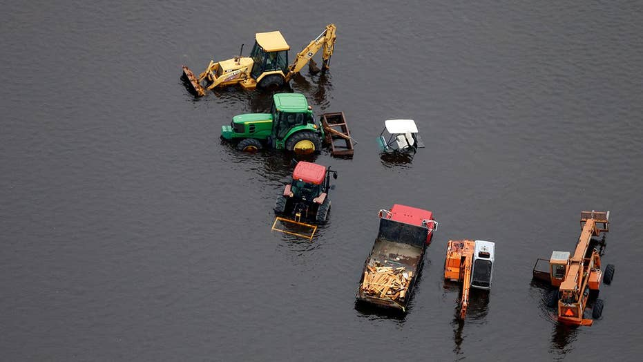 Carolina farmers fear the worst after Hurricane Florence