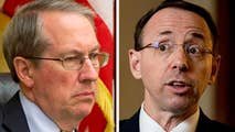 House Judiciary Chairman Bob Goodlatte weighs in on The New York Times report that Deputy Attorney General Rod Rosenstein discussed wearing a wire to secretly record President Trump.