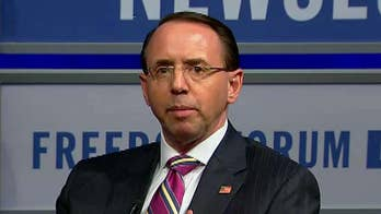 Trump is reportedly backing off decision to declassify key documents in Russia investigation as reports claim Rosenstein suggested secretly recording Trump; reaction on 'The Ingraham Angle.'