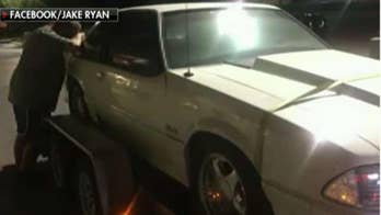 Kids buy back dad's beloved Mustang that he sold 17 years prior to make payments for mom's cancer treatment.