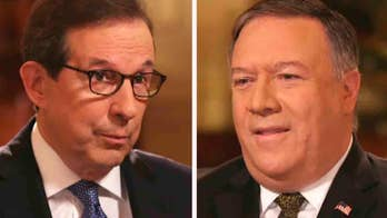'Fox News Sunday' anchor Chris Wallace asks Secretary of State Mike Pompeo about Deputy Attorney General Rosenstein reportedly talking about secretly recording President Trump.