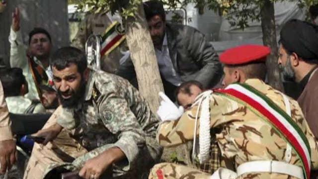 Dozens killed after shooting at Iranian military parade
